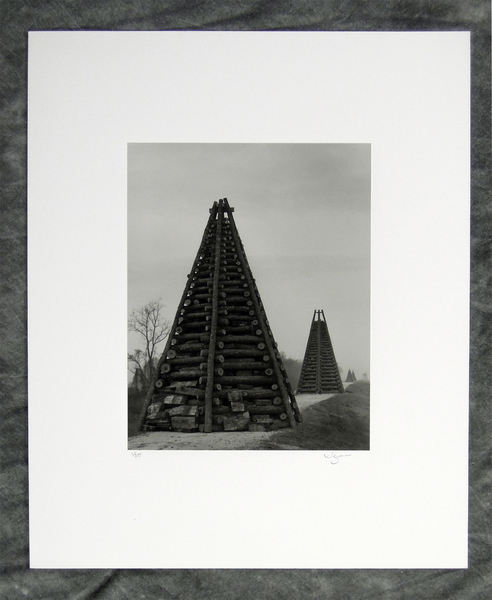 Christmas bonfire tower study #2